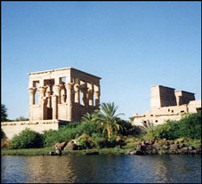 Isis Temple with Trajan's Kiosk, Philae, Egypt. Photo: Ruth Shilling