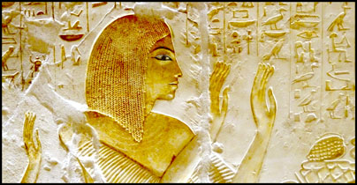 Newly Opened tomb at Saqqara. New Kingdom Necropolis, Tomb of Maya. Sakkara, Egypt. Photo: Ruth Shilling.