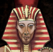 Akhenaten - Link to Paintings by Martha Schwenzer